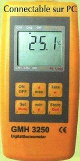 thermomètre digital rapide PC