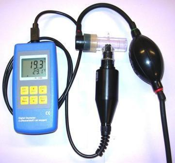 Appareil électronique de mesure d'oxygène