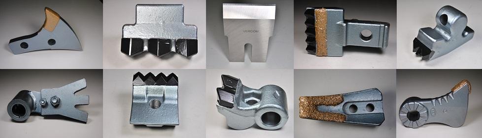 Pièces d'usure adaptables toutes marques ! www.vercom-parts.com