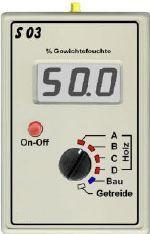 Hygromètre électronique pour plaquettes de bois