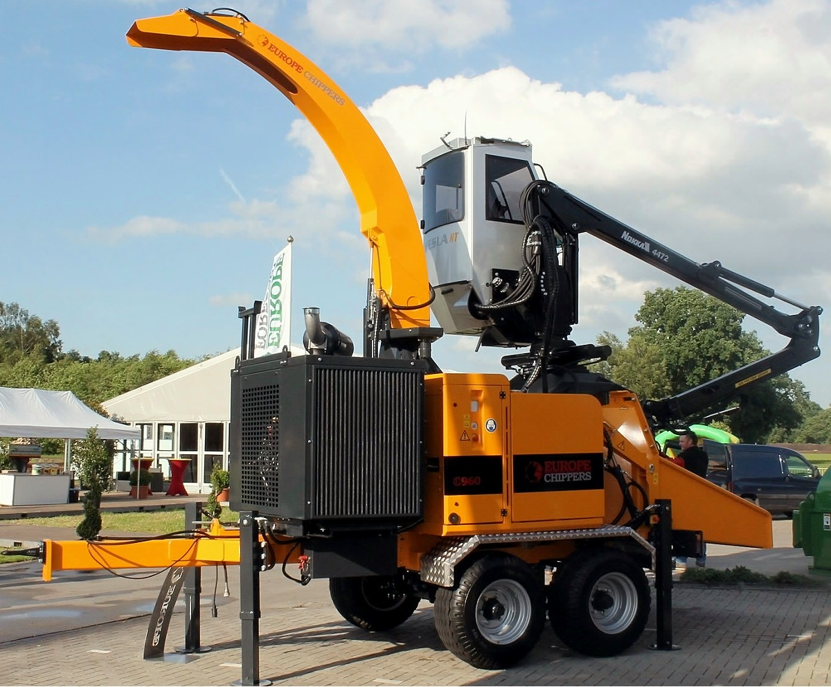 Broyeur à couteaux Europe Chippers C960 (8)