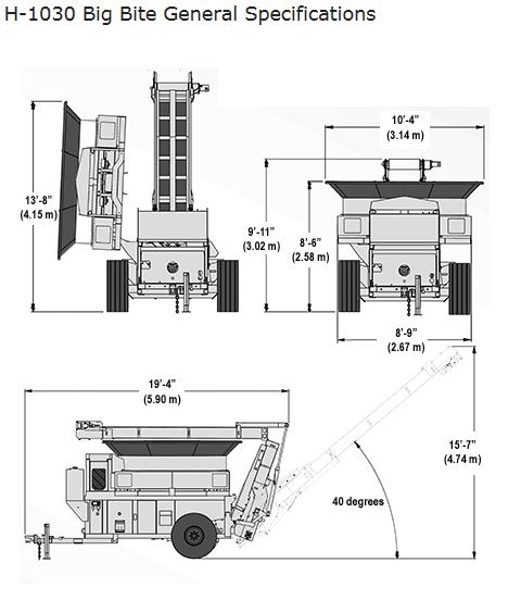 Broyeur de paille Haybuster H1030