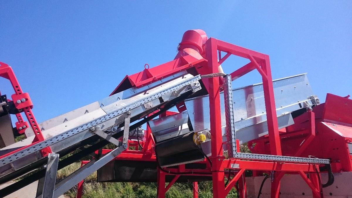 Ligne récupération biomasse photo 1