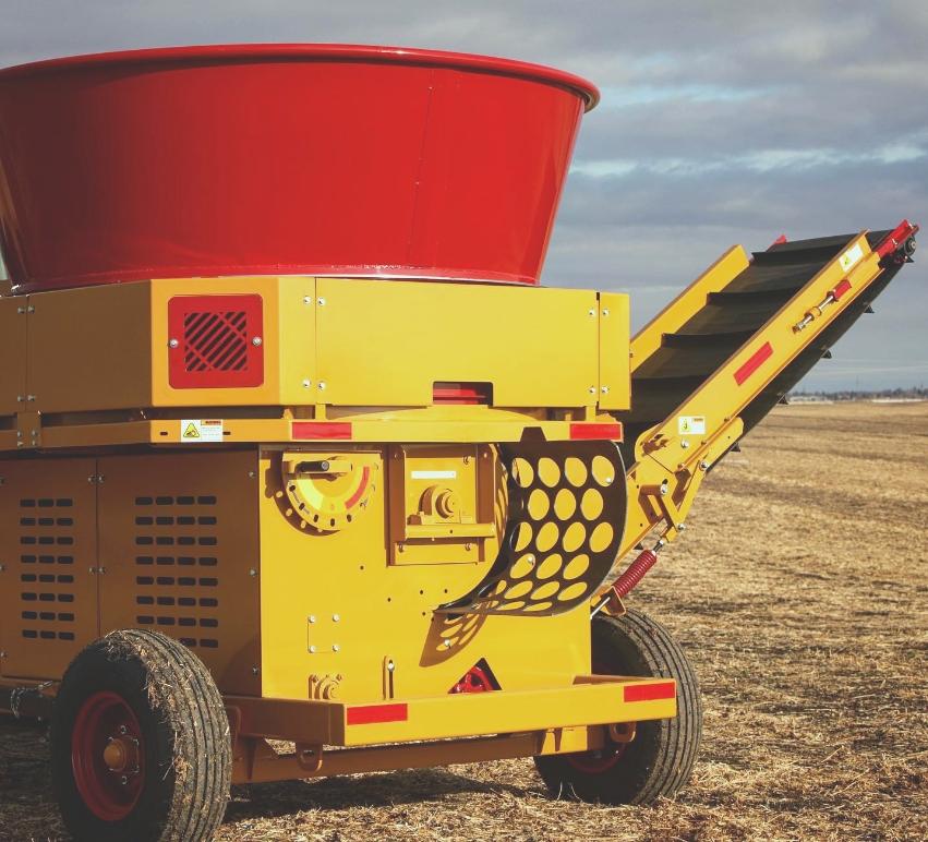 Haybuster H835 vue arrière