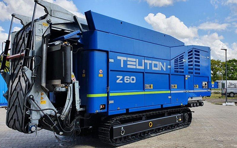 Broyeur lent Teuton Z60 flan